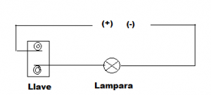 conexion de lampara